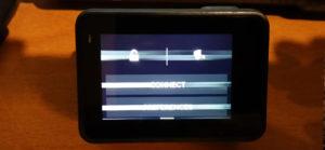 GoPro Hero 5 display righe orizzontali bianche