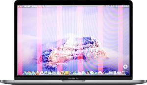 MacBook Pro schermata rosa